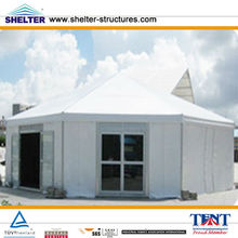 2013 New Style Octagonal Tent 6X9m,15X30m, 30X50m Made of Aluminum Alloy & PVC Coated Cover Used for Over 20 Years