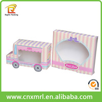 2015 New High Quality Custom Paper Toy Packaging Box with Window