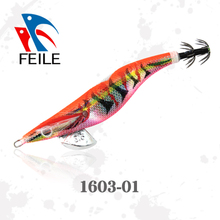high quality plastic fishing lure squid jig