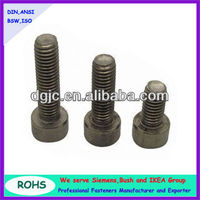 Titanium hex socket head cap screws grade 8.8