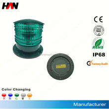 High Quality Cheap Solar LED Lantern With Protection Pole