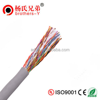 Multi pair telephone cable UTP 25pair 24AWG cat5e cable