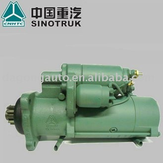 Direct selling! Original Sinotruk / cnhtc start motor for howo truck etc...