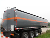 ISO Truck and trailer dimensions for fuel oil chemicals tanker