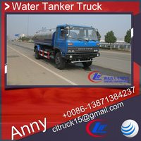 dongfengwashing machine water tank for sale,waste water suction truck