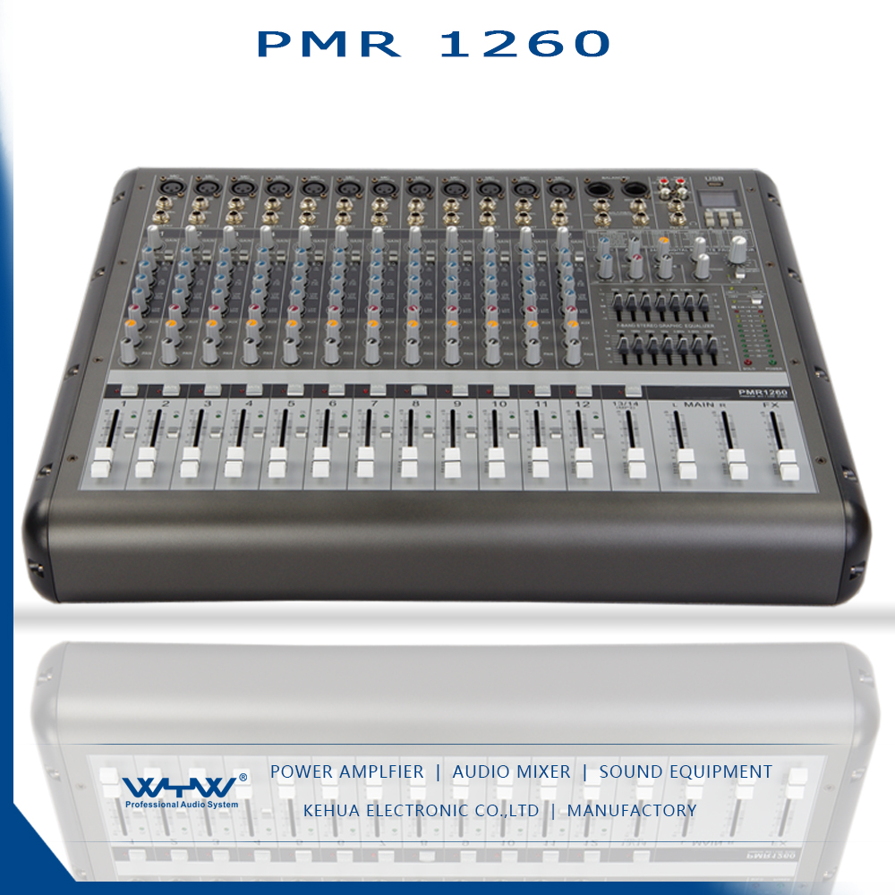 power mixer amplifier 12 channel with equalizer for public address system