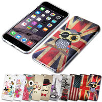 UV Printing Soft Gel Case Cover Skin For iPhone6 Silicon TPU Printed For iphone 5 6 7