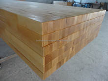 Birch wood table tops;finger-jointed wood worktops