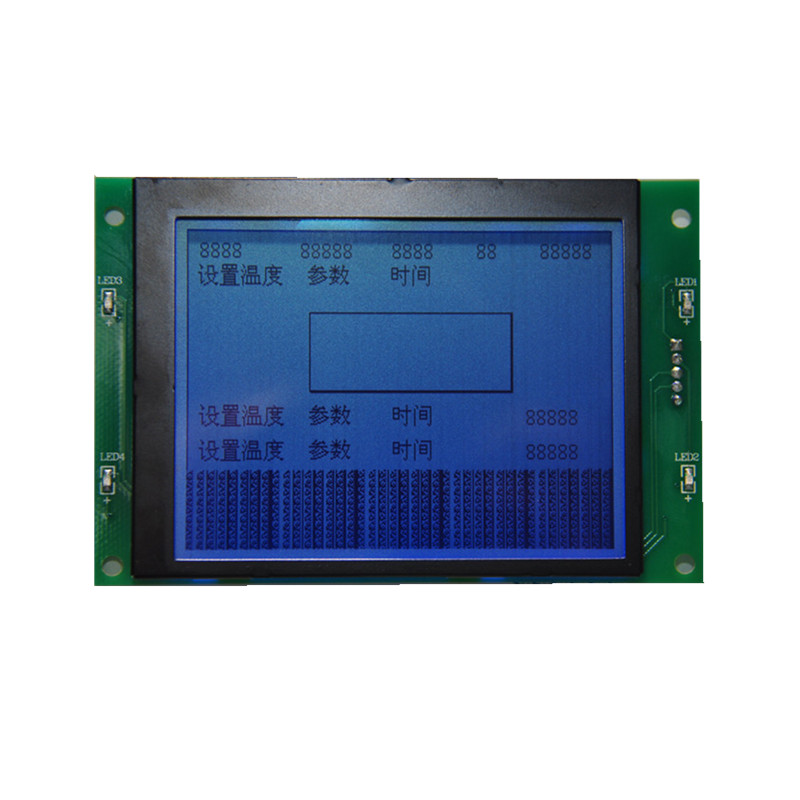 320*240 Graphic LCD display module blue backlight outdoor high brightness LCD display for automotive electronics