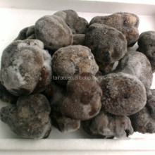deep frozen black truffle