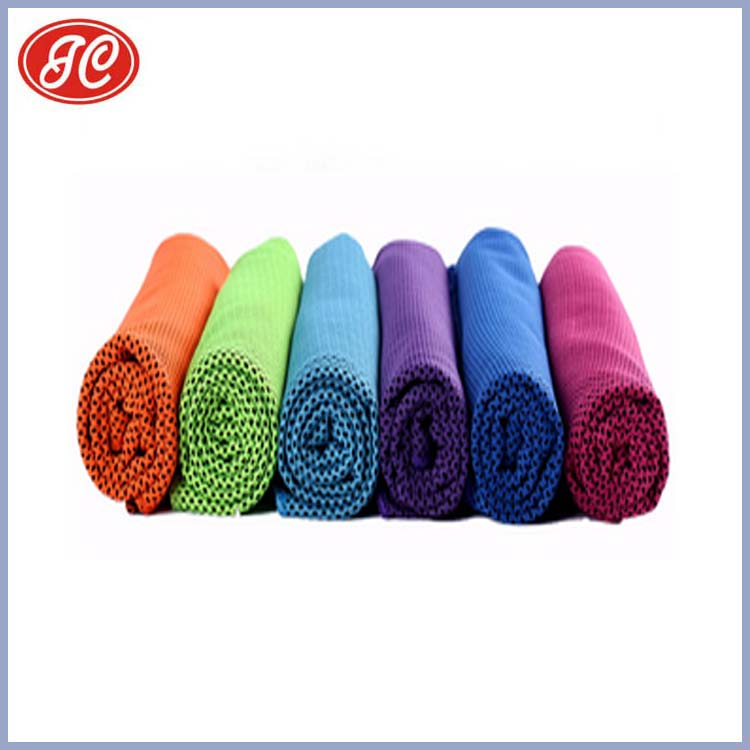 Home textile Portable for sport soft thin cooling towel