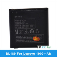 Brand New Replacement 3.7v 1900mAh Li-ion Lithium-Ion Rechargeable Battery for Lenovo K800 BL189