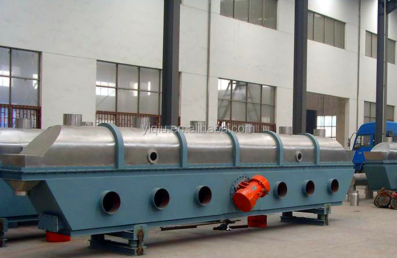 Chicken production line - vibrating fluidized bed dryer