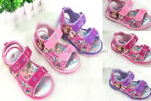 TF-03150729005 2015 hot sell Lovely Frozen Children 's Shoes Girls Kids Sandals For Baby Summer 4-6years