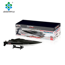 Rc Boat Original Feilun FT011 Brushless Motor Boat Water Cooling High Speed Racing Boat 65CM RTR 2.4GHz 50km/h