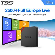 Free IPTV Arabic and Europe IUDTV Channel TV T95N Satellite Receiver for Portugal