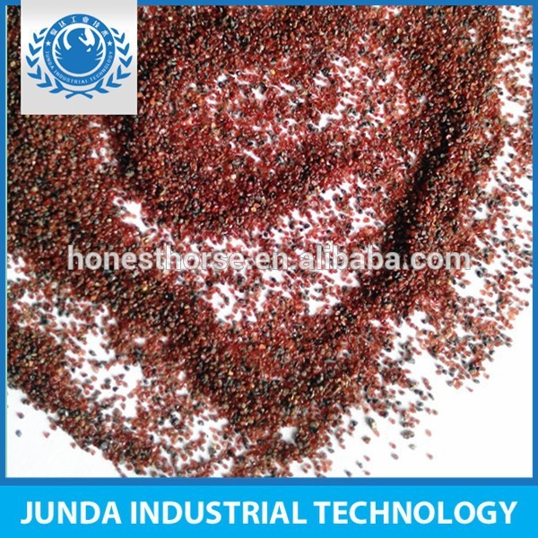 stable chemical properties free Silica content garnet abrasive 30/60 for surface preparation of oil for multi-layer coatings