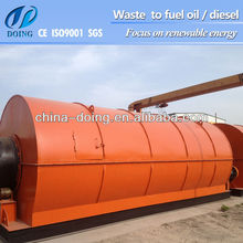 waste tyre oil extraction machine with Ultra clean oil and Ultra low-Sulphur fuel oil