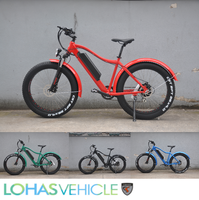 Beach cruiser fat tire electric bike made in Lohas Bicycle KCMTB036