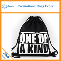 High quality promotion black cotton tote bag plain