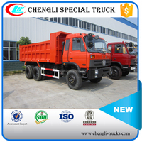 china supplier 20 ton loading 18cbm capacity 10 wheeler 6*4 type right hand drive dongfeng dump truck