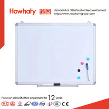 Magnetic kids erase whiteboard ceramic surface