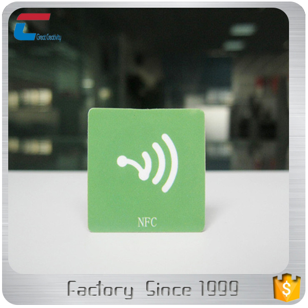 customized logo printing Type 2 anti-metal rfid tag disposable