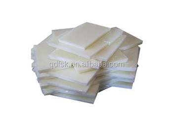 Investment casting material paraffin wax