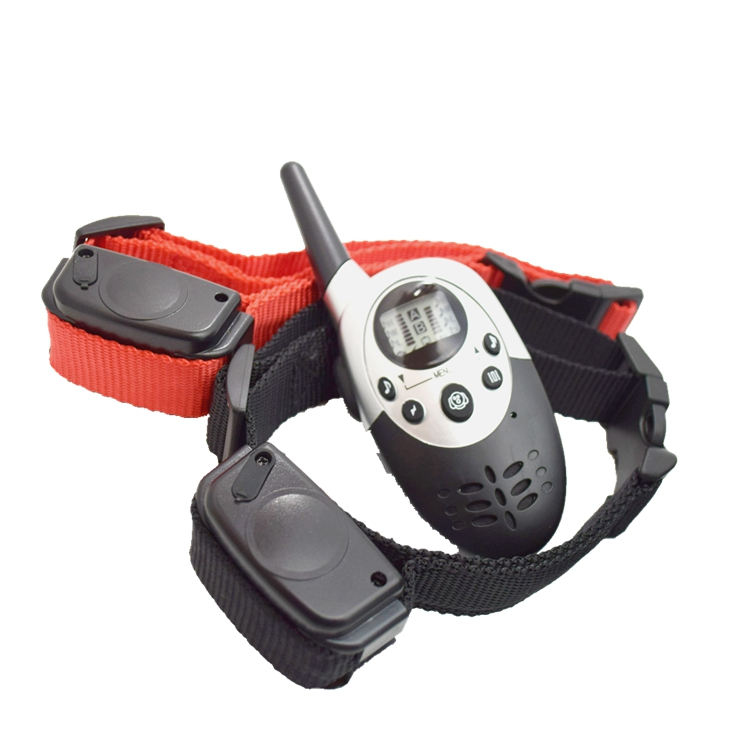 LCD display screen shock vibration dog collars shock collar for dogs barking