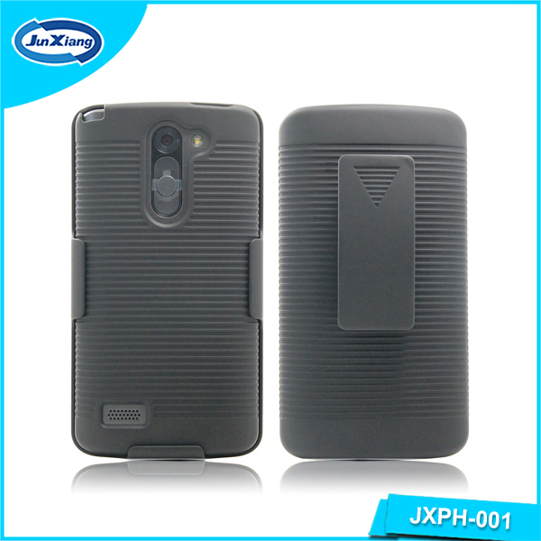 Factory price pattern holster kickstand case for LG L80 bello D331