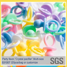 Nipple Shaped Solid Color Spcifiers For Baby Shower Decoration