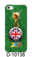the world cup in 2014 phone case for back cover for iphone5 great britain flag