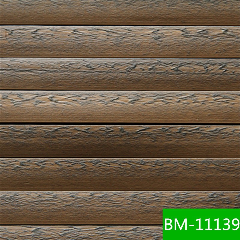 Water-resistant decorative plastic Wall Covering Outdoor and Indoor PE Wicker