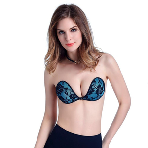 Top grade fashion silicone breast Lace bra silicone breast bra for Bra & Brief Sets