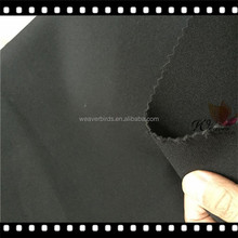 Double side nylon knitted fabric laminated 1.5mm Rubber for fitness band /Nylon neoprene fabric