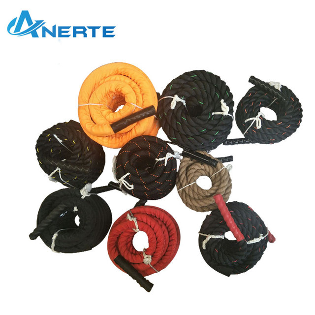 colorful battle rope to strength training power fitness rope suit for physical/exercise