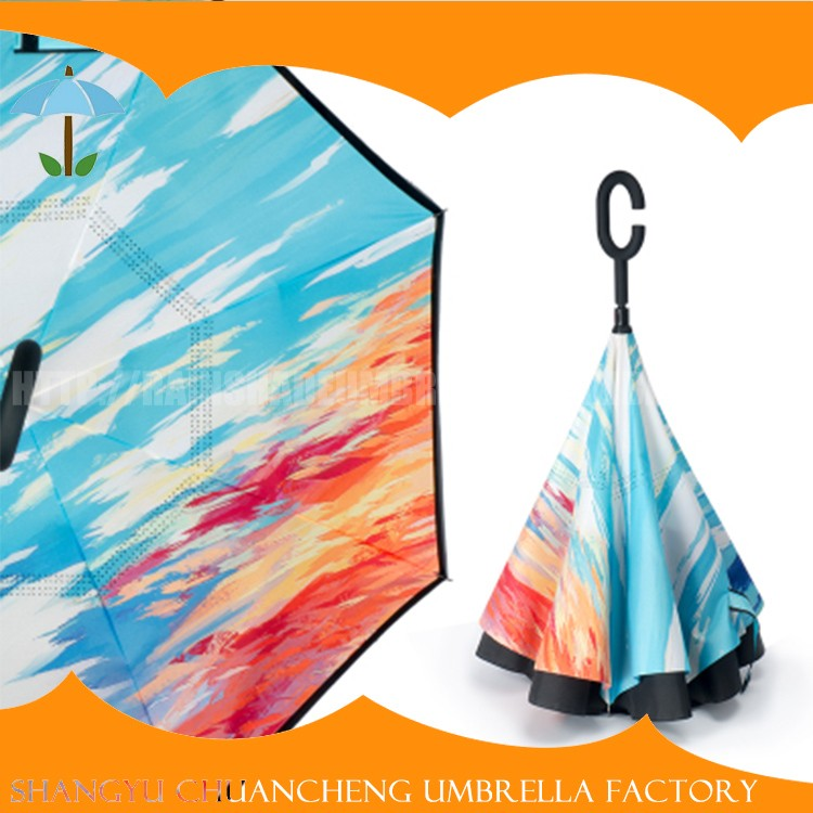 Quality-Assured Promotional Bright Colored Umbrella