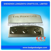 Hot Selling Metal Cast Iron Name Plates