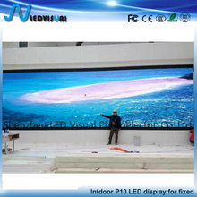 Indoor aluminum die casting LED big display screen for advertising p10