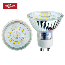 2018 new design led glass gu10 lamps base light bulbs 20w 35w 50w halogen gu10 led replacement