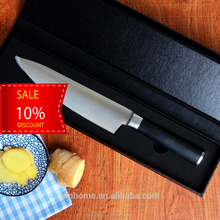 high quality 5cr15 steel stainless steel chef knife in gift box pack