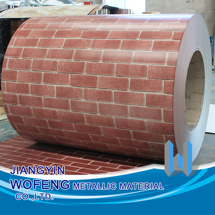 China supplier color coated steel coil / sheet for wall panel and house decoration