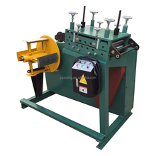 CHINESE 3-IN-1 NC servo roll straightener feeder <strong>w</strong>/ uncoiler Servo Coil Straightening /Servo Roller Feeder Machine