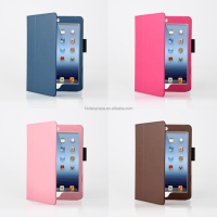 Danycase good design for ipad mini leather case/ cover skin stand case smart cover
