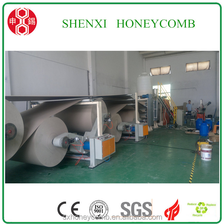 Hot selling Door making honeycomb machinery for paper pads