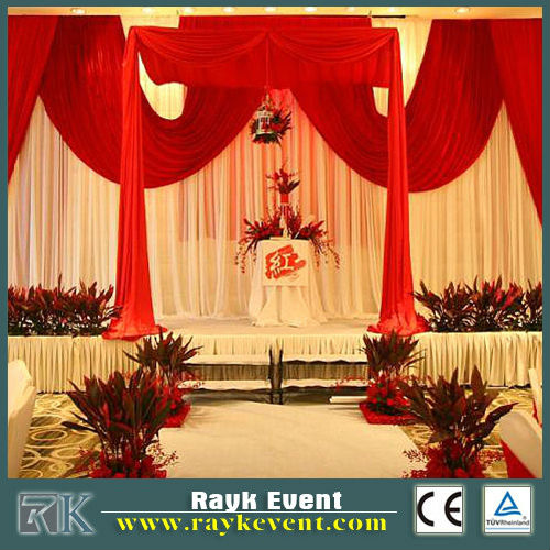 RK Pipe And Drapes For Exhibition Modular Display Stands