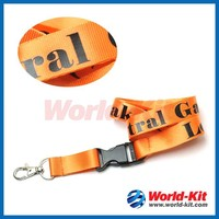 High quality nylon lanyards/full color lanyard/lanyard printing