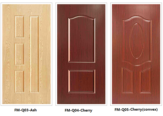 melamine laminate 3mm HDF door skin