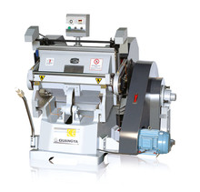 ML750 Hand Operated Press Paper Plastic Creasing Die Cutting Punching Machine For Cardboard