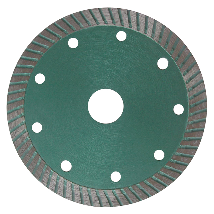 Johnsontools marble segmented circular diamond stone cutting saw blade